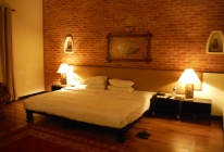Beautiful, elegant accomodations at Gokarna Forest Resort