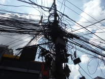 Why does this city work at all? Electricians nightmare