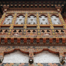 Elaborate carved wood detailing