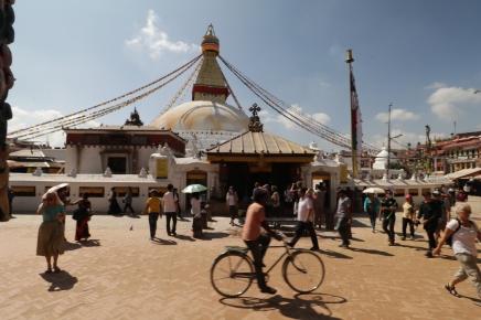 Boudhanath Stupa -Buddhist holy pilgrimage site