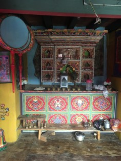 Every home has a Buddhist altar