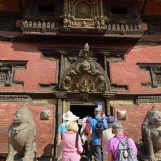 entrance into the palace and museum from Durbar Square