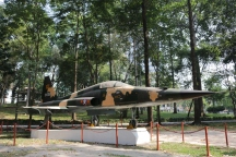Vietnam jet flown by spy that dropped a bomb into the Royal Palace