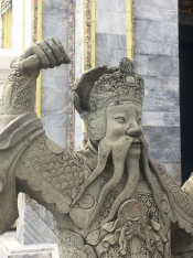 Several Chinese statues were used as ballast in ships returning to Bangkok