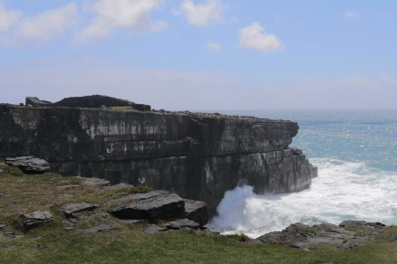 We hiked in to the Black Fort, Aran island of Inishmore