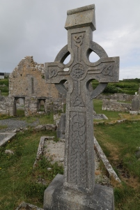 Abbott Thomas's 8th/9th century high cross--Did he die at the same time as the Roman boys + the cross placed later? The sign not only delcares he was Abbott but also Apostle (AP)