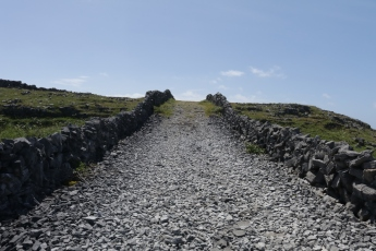 path to the west end and the black fort