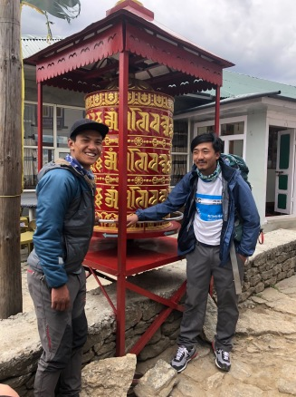 Super hero guides, Chering and Pemba with Himalayn Wonders
