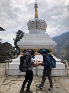 Religious Stupas in every village